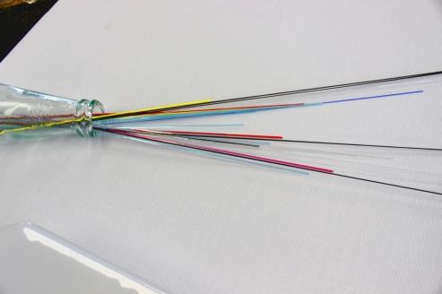 Glas-Spaghetti-Fusing