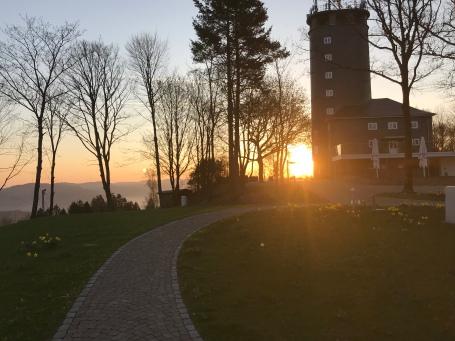 Hohe Bracht Sonnenuntergang