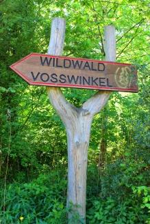 Wildwald Vosswinkel Schild