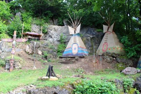 Elspe Festival Indianerdorf