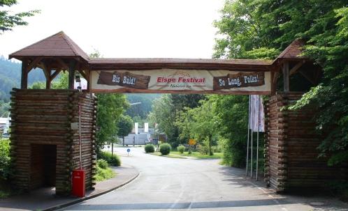 Elspe Festival Zufahrt