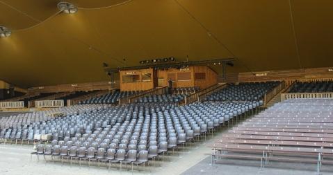 Elspe Festival Zuschauerraum