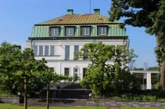 Villa Wesco Gartenperspektive