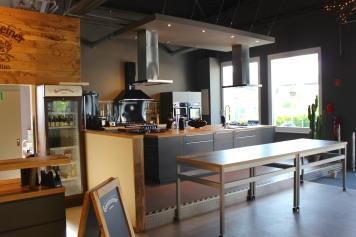 Villa Wesco Grillbereich Küche