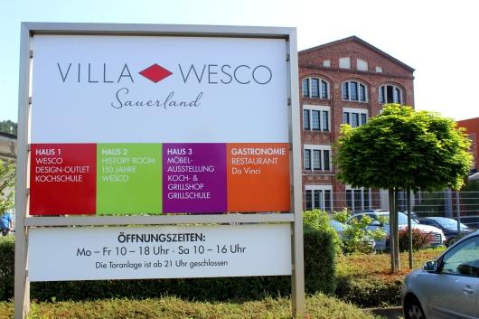 Villa Wesco Markenerlebniswelt