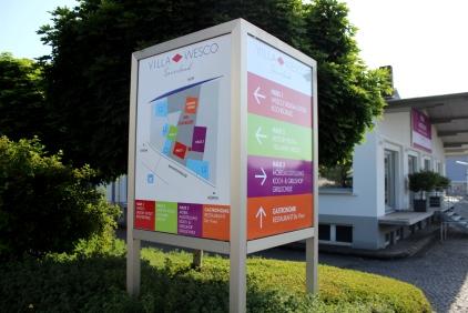 Villa Wesco Wegweiser