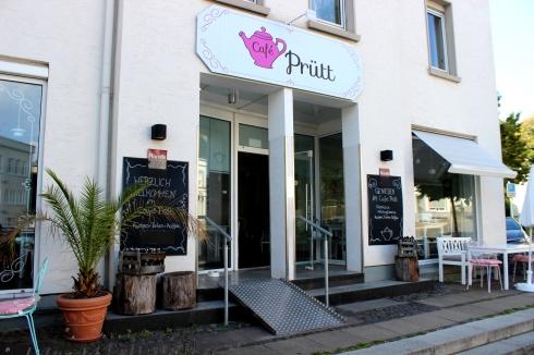 Café Prütt Außenansicht