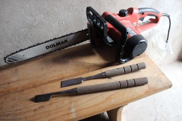 Eiskunst Werkzeuge