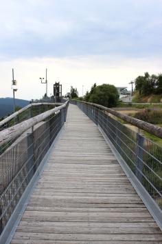 Erlebnisberg Kappe Panorama Brücke