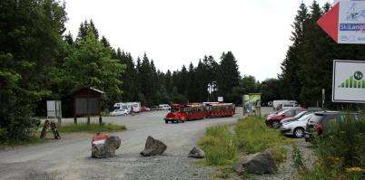 Erlebnisberg Kappe Parkplatz Kappe Express