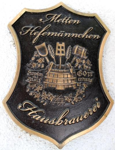 Metten Hefemännchen Wappen Eisen