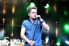 Thomas Godoj auf der Bühne