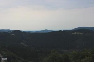 Winterberg Aussicht Panorama Brücke