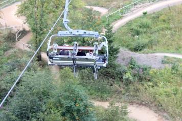 Winterberg Lift Fahrradaufhängung
