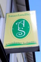 Attendorner Senfmühle Schild