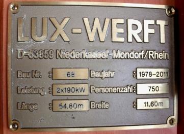 Biggesee Lux Werft