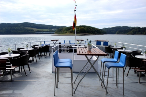 Biggesee MS Westfalia Deck
