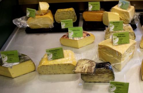 Bioladen Heesfelder Mühle Käse