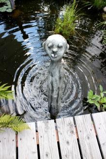 Julianas Märchenwelt Teich Skulptur