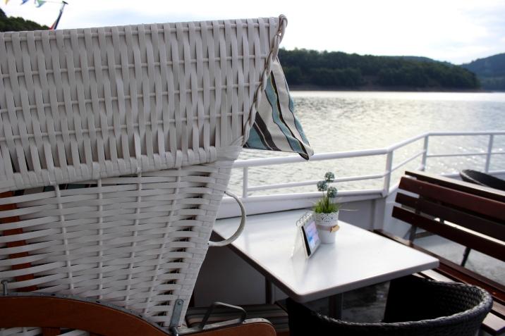 Personenschifffahrt Biggesee Strandkorb