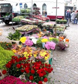Attendorner Wochenmarkt Blumen