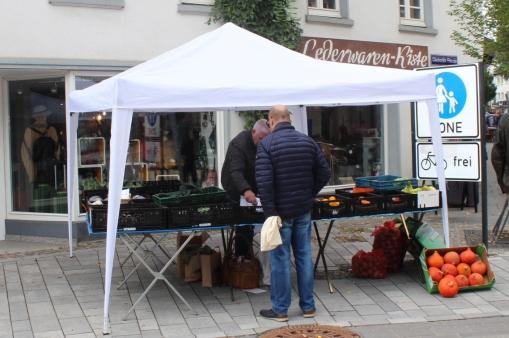 Attendorner Wochenmarkt Mr. Nature