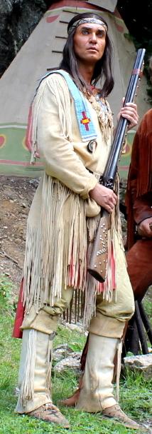 Jean-Marc Birkholz als Winnetou