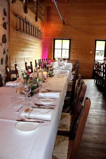 Steinbergs Alm Hochzeitstafel