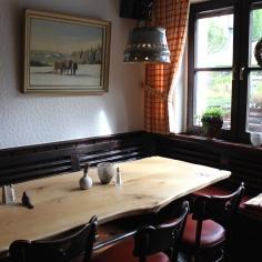 Steinbergs Wildwiese Restaurant Thekenbereich