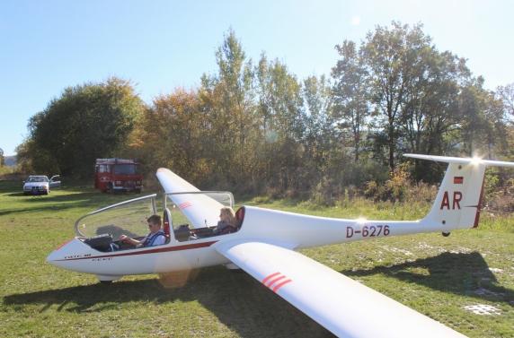 LSC Attendorn Finnentrop Segelflugzeug Ausbildung
