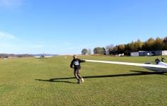 LSC Attendorn Finnentrop Segelflugzeug Start 1