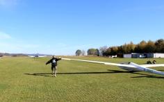 LSC Attendorn Finnentrop Segelflugzeug Start 2