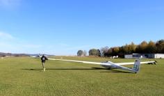 LSC Attendorn Finnentrop Segelflugzeug Start 3