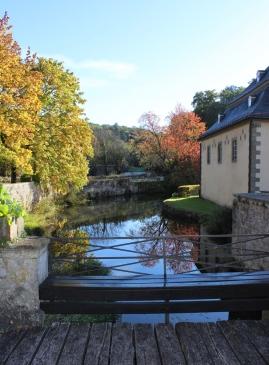 Schloss Körtlinghausen Brücke
