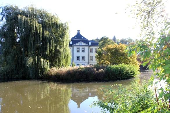 Schloss Körtlinghausen Seitenansicht
