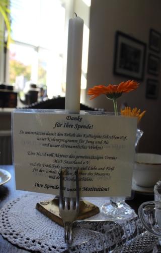 Schrabben Hof Cafe Tisch