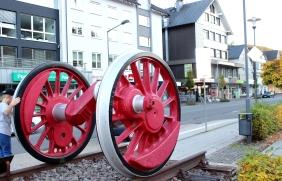 Lennestadt Altenhundem Bahnhof Räder