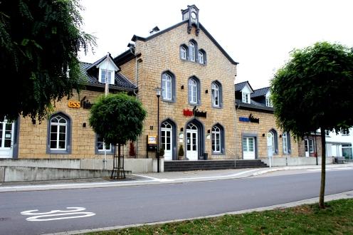 Lennestadt Grevenbrück Kulturbahnhof Essbahnhof Museumsbahnhof