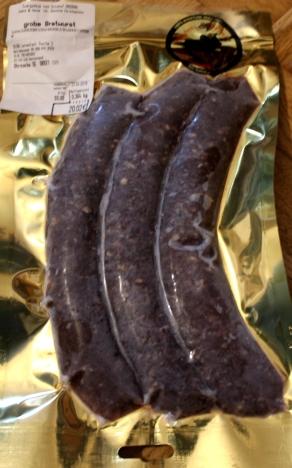 Zwergzebu vom Gutshof Original Bratwurst