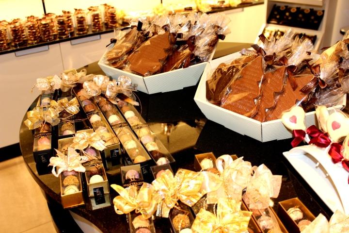Schokoladenmanufaktur Sauerland Auslage