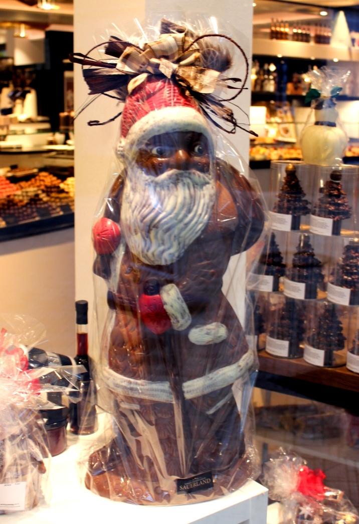 Schokoladenmanufaktur Sauerland Weihnachtsmann
