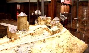 Burg Altena Museum Modell