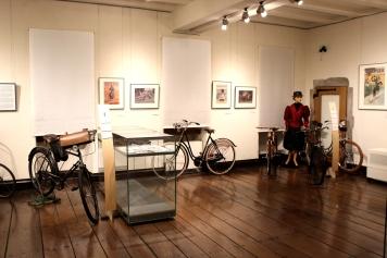 Burg Altena Museum Sonderausstellung Fahrräder