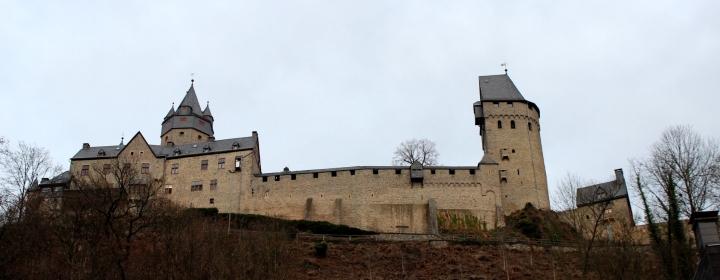 Burg Altena Stadtansicht
