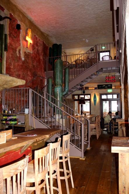 Cafe Geronimo Aufgang
