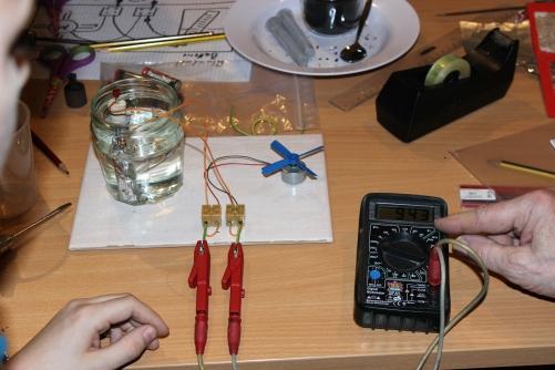 Feuerwelten Experiment Batterie
