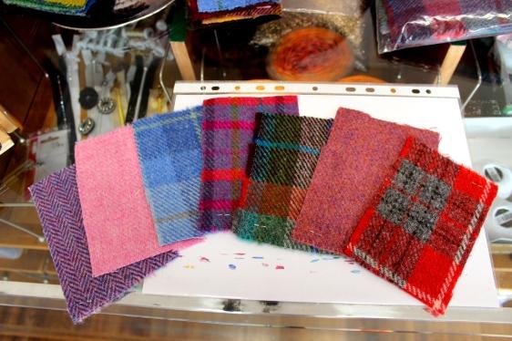 Stoffe und Ideen Annelie Harris Tweed