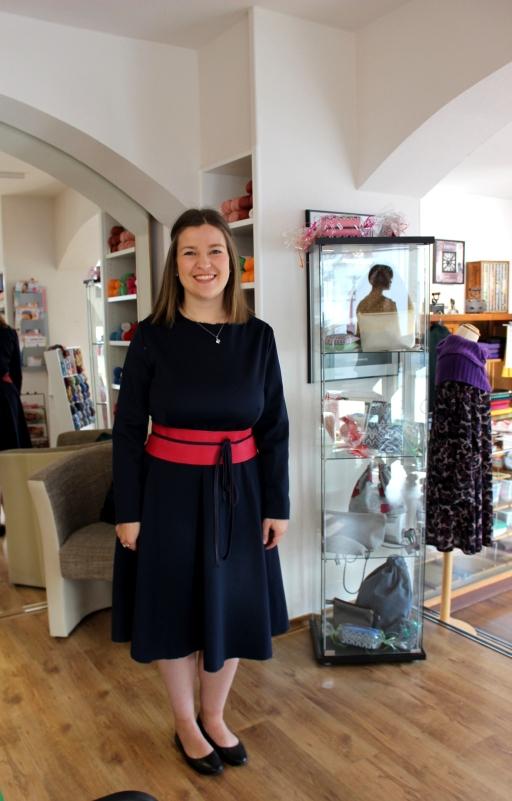 Stoffe und Ideen Annelie Kleid Nadine