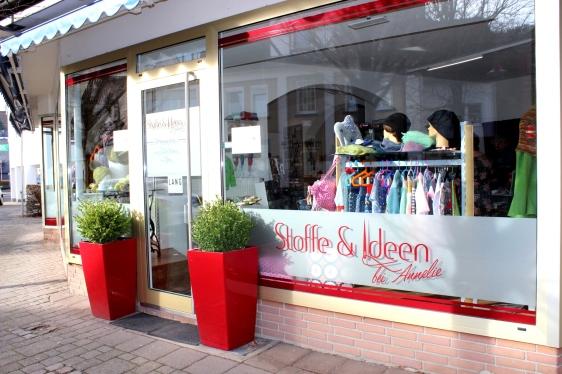 Stoffe und Ideen bei Annelie Laden