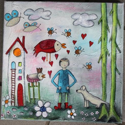 Juliana Schmidt Kinderbuch Lisa Haus